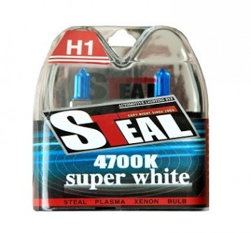 STEAL HALOGEN SUPER WHITE H1 24V.  Art.nr 0192